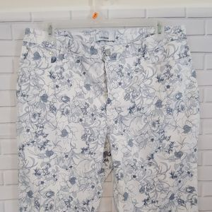 Croft & Barrow Stretch capri pants